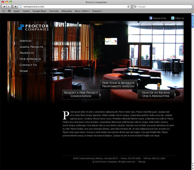 Proctor Companies Home Page